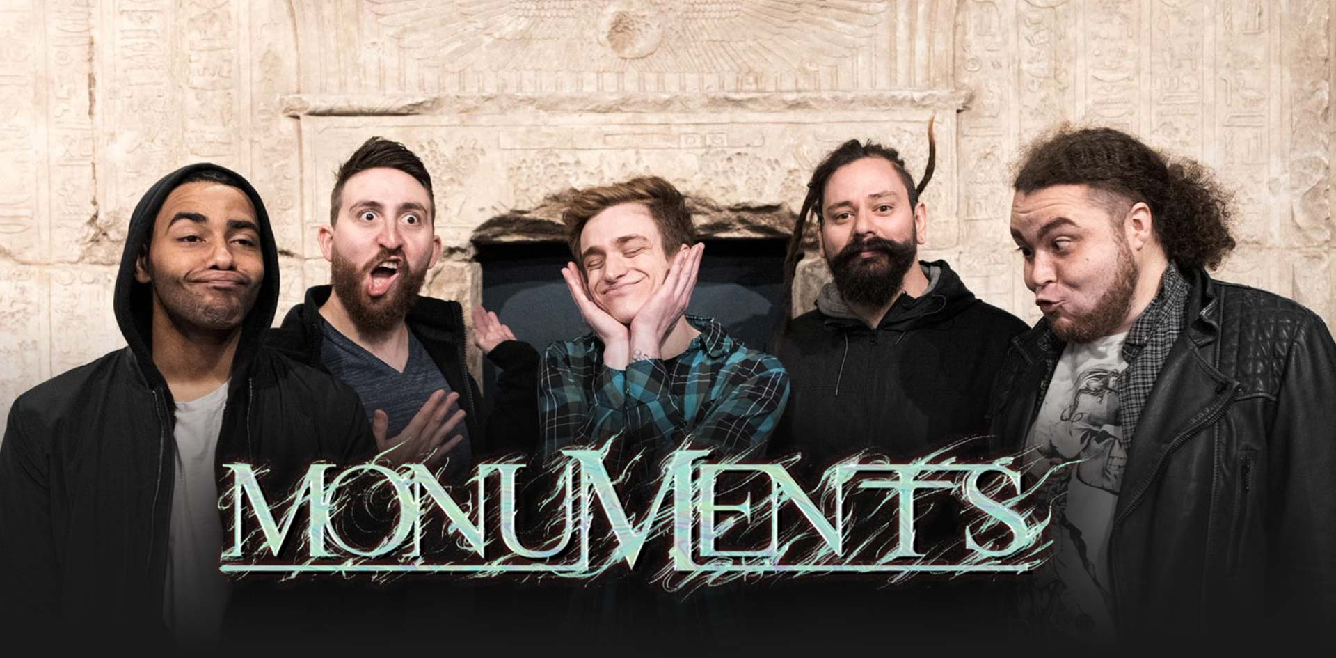 Monuments Band Uk Official Store and Website